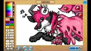 getlinkyoutube.com-Animal Jam Speedpaint #12 - My Little Pony, Pals are 4ever