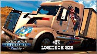 "American Truck Simulator - #24 ""Logitech G29"""