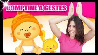 getlinkyoutube.com-Comptines pour bébé - Comptines à gestes Titounis - Monde des petits