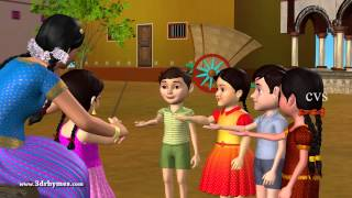 Veeri Veeri Gummadi Pandu - 3D Animation Telugu Rhymes for children