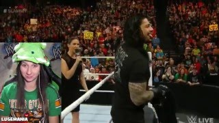 getlinkyoutube.com-WWE Raw 12/21/15 Roman Turns his back on Stephanie McMahon