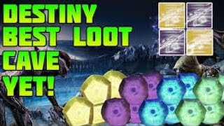 Destiny*BEST*Loot Cave/Loot Farm EVER!!The Taken KING DLC!!!