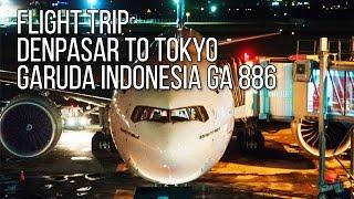 getlinkyoutube.com-Flight Trip Boeing 777-300ER to Tokyo | Garuda Indonesia