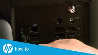 Replacing the Hard Drive in the HP Pavilion All-in-One PC