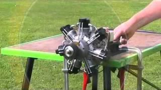 getlinkyoutube.com-Brown Bear Motors Septa 120 Radial Engine