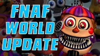 getlinkyoutube.com-FNAF WORLD UPDATE 2   Halloween Animatronics & SECRET Characters!