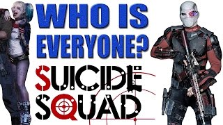 getlinkyoutube.com-Suicide Squad - WHO ARE THEY?