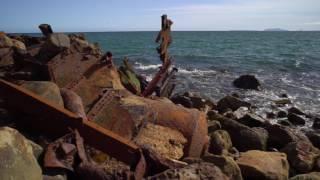 getlinkyoutube.com-4K Shipwreck LA JENELLE Beholder DS1 Camera Stabilizer Lenses Sony 16-35mm Zeiss, Canon FD 24mm