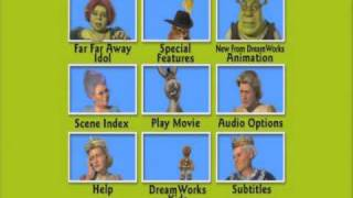 getlinkyoutube.com-Shrek 2 DVD Menu  with Donkey