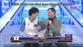 getlinkyoutube.com-Yuzuru Hanyu- Kiss and Cry moments