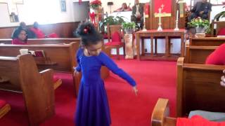 getlinkyoutube.com-Take Me to the King praise dance by Kayla!