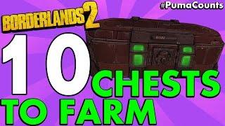 getlinkyoutube.com-Top 10 Best Loot Chest Farming Locations in Borderlands 2 #PumaCounts
