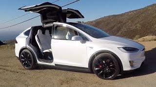 Tesla Model X P90D - One Take