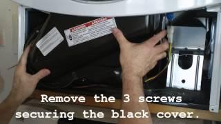 getlinkyoutube.com-Kenmore He3 dryer -   fuse replacement.