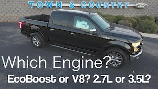 getlinkyoutube.com-2017 Ford F150 - Which Engine to Choose? EcoBoost or V8? 3.5L or 2.7L?