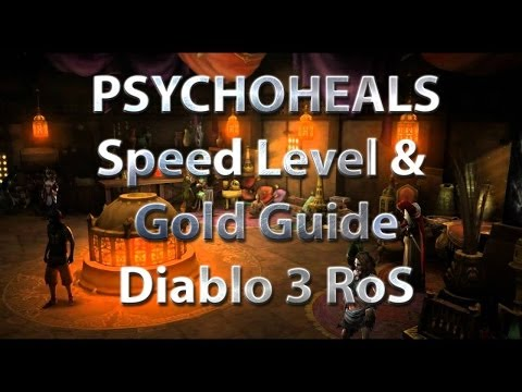 Diablo 3 Level 1-70 and 20M Gold in 60 mins - Part 2 Ganze Gruppe Ziehen