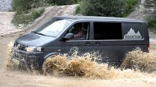 getlinkyoutube.com-VW T5 Rockton: Offroadbus im Test