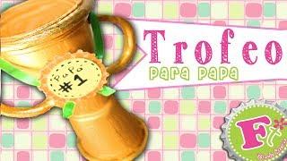 getlinkyoutube.com-DIY: Trofeo para Papá #1 (ecológico) - floritere - 2014