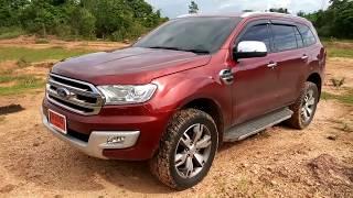 getlinkyoutube.com-ทดสอบ Ford Everest 2015 (ลอง Diff Lock หลังเขื่อนแม่กวง)
