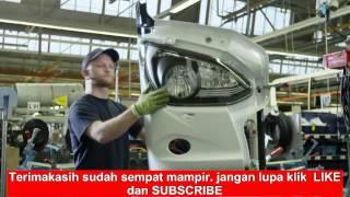 MENGINTIP PABRIK proses pembuatan bus Mercedes-Benz. MENAKJUBKAN!!! width=