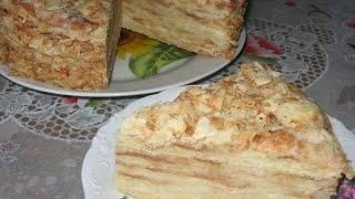 getlinkyoutube.com-Old Napoleon cake recipe
