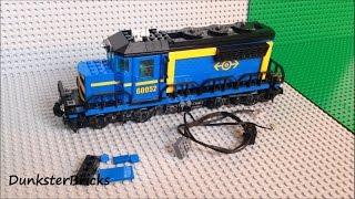getlinkyoutube.com-Fitting Lights to the LEGO Blue Cargo Train, set 60052