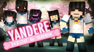 getlinkyoutube.com-Minecraft YANDERE HIDE N SEEK!! /w Facecam