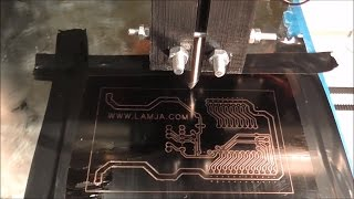 getlinkyoutube.com-Making PCB with 3D printer and permanent marker
