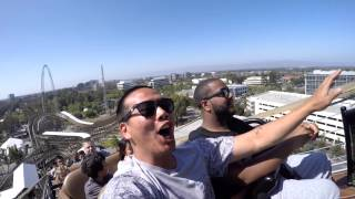 getlinkyoutube.com-GoPro Hero 4 Black edition 1080p 24fps HD California's Great America