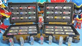 getlinkyoutube.com-파워레인저 다이노포스 다이노셀 브레이브 박스 44개 다이노셀 또봇 Y 장난감 Power Rangers Dino charge kyoryuger toys