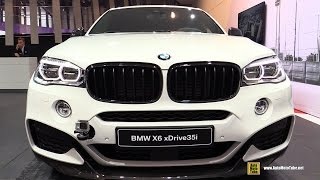 getlinkyoutube.com-2016 BMW X6 xDrive 35i M Performance Accessorized - Exterior, Interior Walkaround