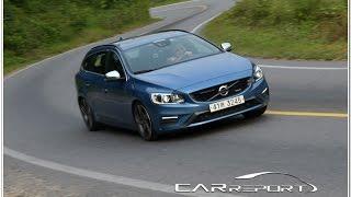 getlinkyoutube.com-Volvo V60 D4 R-Design Driving / 볼보 V60 D4 R-디자인 시승기