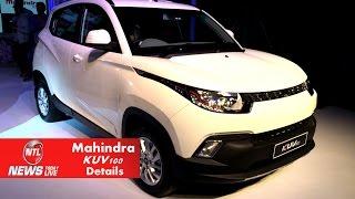 getlinkyoutube.com-Mahindra KUV100 Hatchback Small SUV Detailed Review