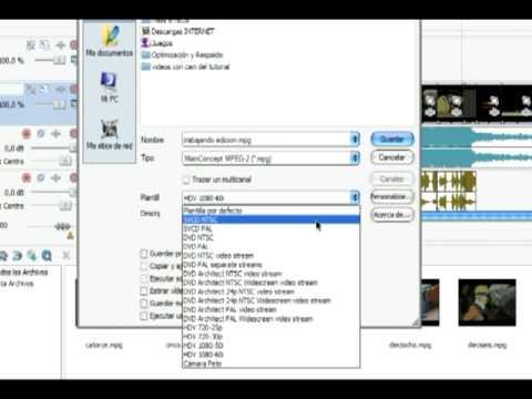 Tutorial para editar con Sony Vegas 7 - aprender a editar con vegas - vegas 7.0 - edicion - video