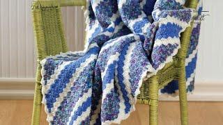 getlinkyoutube.com-How to Crochet an Afghan: Corner to Corner Afghan