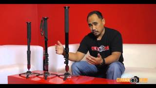 getlinkyoutube.com-DIY Cheap Video Monopod with Fluid Base Swivel Tripod Foot