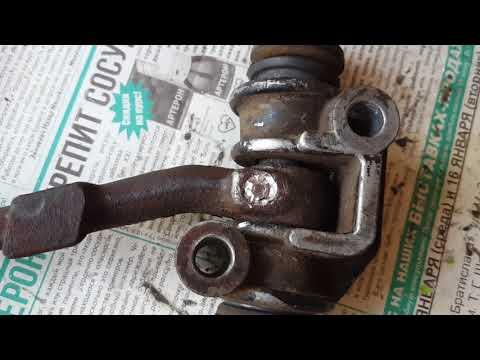 Ремонт рулевого маятника ЗАЗ 966