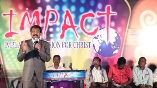 REV JOSEPH EDWARD AWESOME TELUGU CHRISTIAN DEVOTIONAL MESSAGE ON PRAISE & WORSHIP IN IMPACT MEET