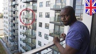 مراهقين يمارسان الجنس على الشرفة ويسقطان من الطابق السادس