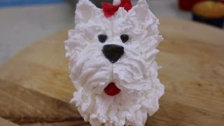 getlinkyoutube.com-Cupcake o panquecito de perrito. Decorate a cupcake