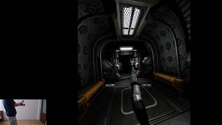 Doom 3 BFG VR Mod Gameplay