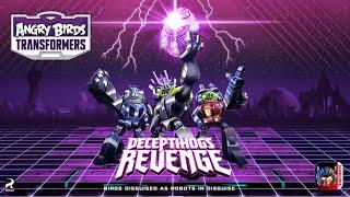 getlinkyoutube.com-Angry Birds Transformers: Deceptihogs Revenge – New update!
