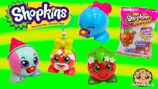 getlinkyoutube.com-Shopkins Season 1 RADZ Candy Dispensers Collection Unboxing Toy Video - Cookieswirlc