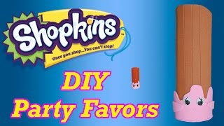 getlinkyoutube.com-DIY How to Make Shopkins Birthday Party Favors Cheery Churro Cake Topper Decoration