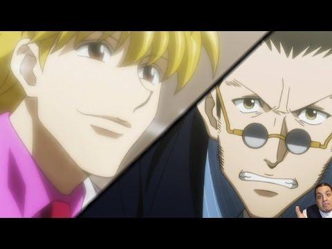 Hunter X Hunter 2011 Episode 144 ハンターハンター Anime Review -- Leorio Vs Pariston Debate