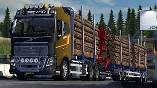getlinkyoutube.com-Volvo FH16 750 Timber Euro truck Simulator 2