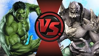 getlinkyoutube.com-HULK vs DOOMSDAY! Cartoon Fight Club Episode 107