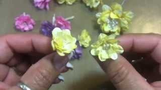 "getlinkyoutube.com-Flower Tutorial! April ""Build-a-Flower"" challenge with Jules for WOC!!"