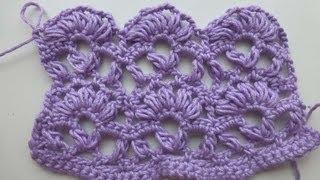 """getlinkyoutube.com-Crochet with eliZZZa * Crochet Stitch """"Anastasia"""""""