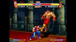 getlinkyoutube.com-Real Bout Fatal Fury 2: The Newcomers (Arcade) Playthrough as Terry Bogard